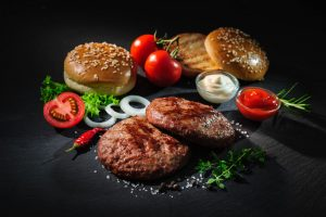 ipari hamburgerpogácsa prés