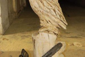 homok szobrászatésfa szobrászat