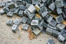 bontott bazalt kiskockakő