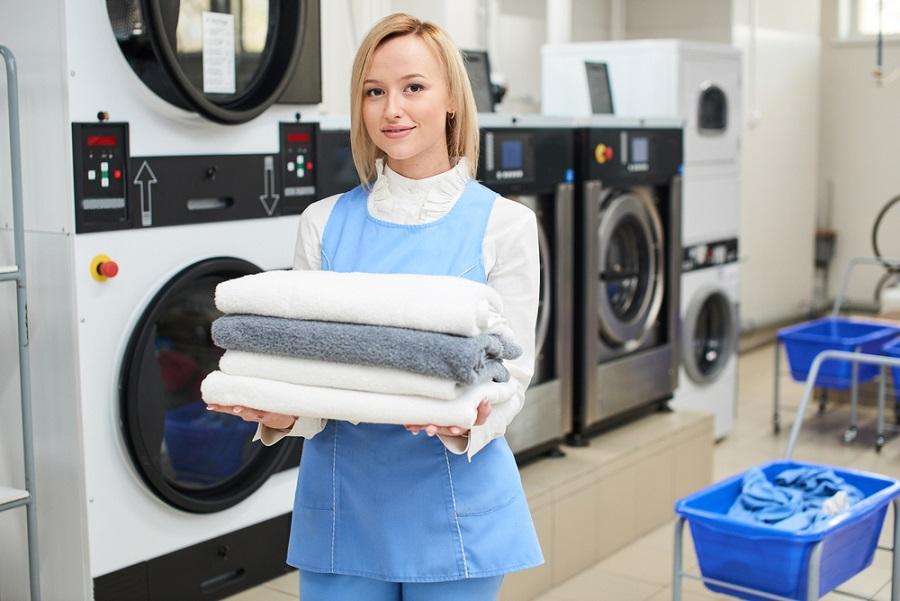 használt mosodaipari berendezések