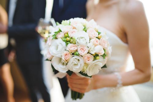 selyemvirág menyasszonnyi csokor